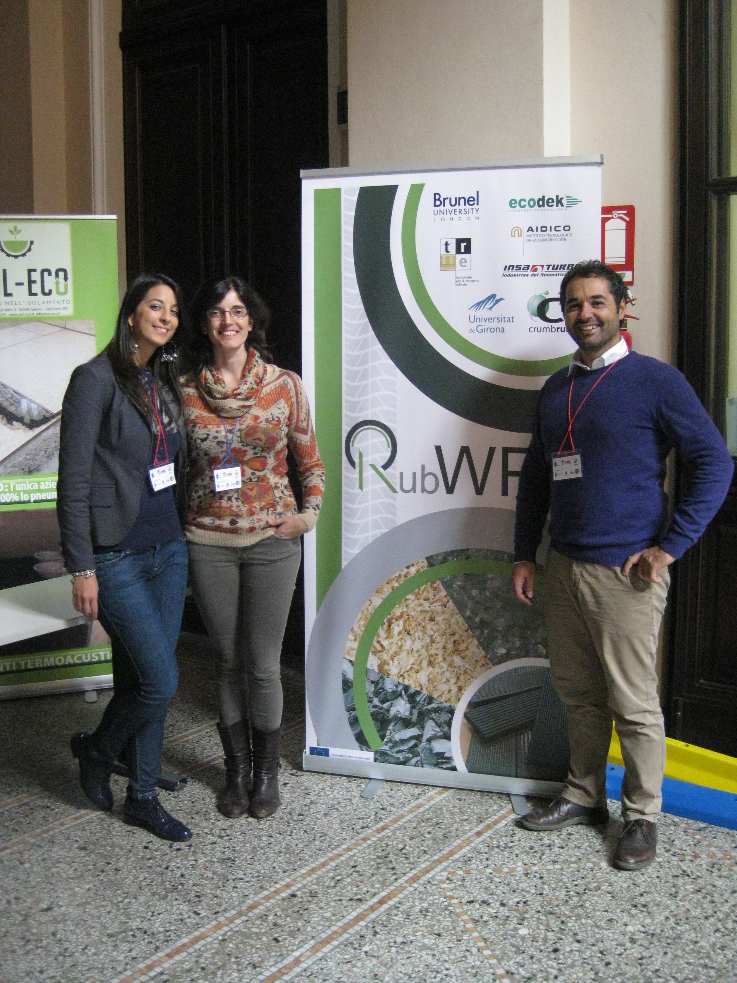 RubWPC @ International Seminar for Safer and more Sustainable City Life in Turin